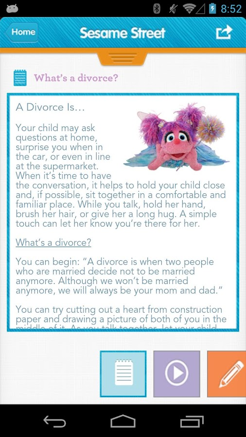 Sesame Street: Divorce- screenshot