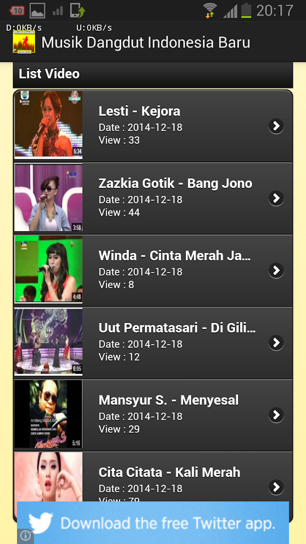 Musik Dangdut Indonesia Baru Revenue Download Estimates Google