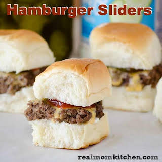 Hamburger Sliders.