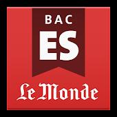 Bac ES 2015 - Le Monde