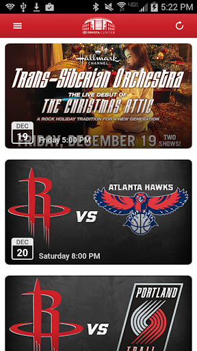 Houston Toyota Center  screenshots 2
