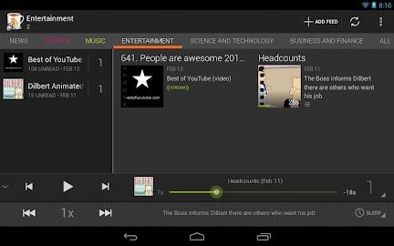 BeyondPod for Tablets - Legacy Screenshot 5
