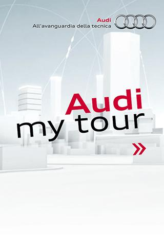 Audi my tour- screenshot