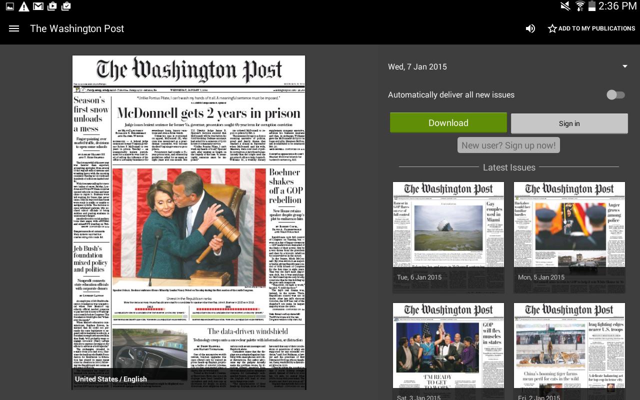 PressReader - screenshot