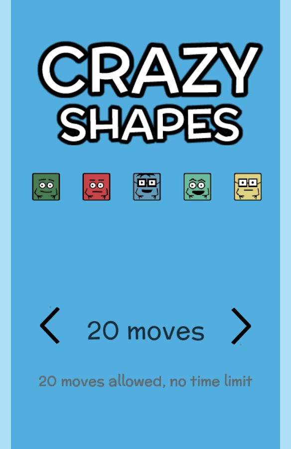 Crazy Shapies- screenshot