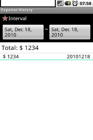 Expense Recorder (Money Saver) - screenshot