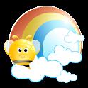 蜜蜂天气-世界城市天气(mobee) logo