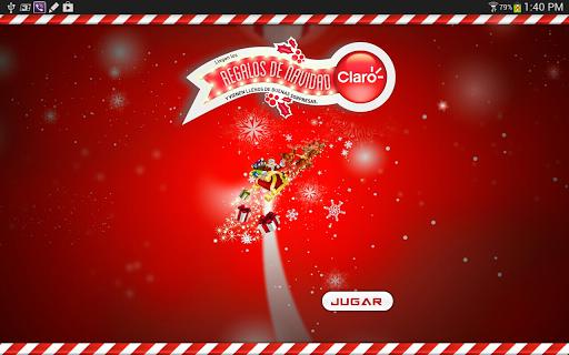 Claro Trineo Navidad