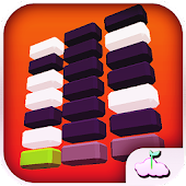 Blocks Race White Tiles Piano