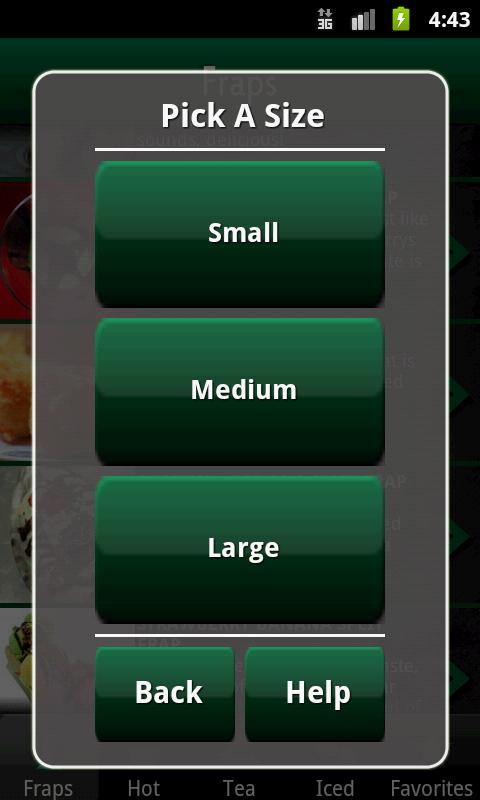 Hidden Menu Coffee Drinks FREE - screenshot