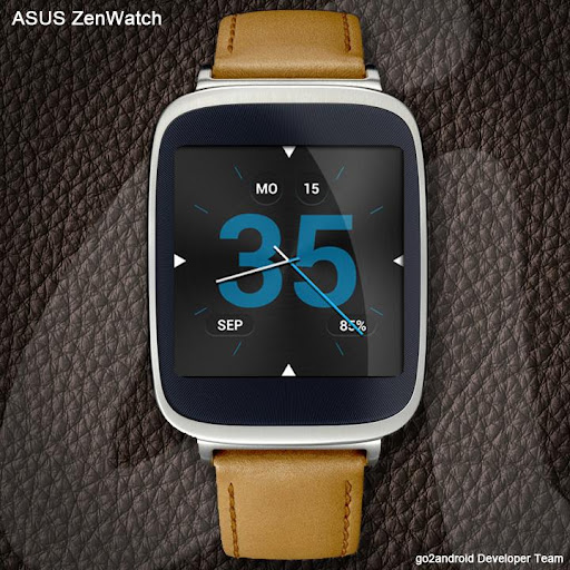 Frugal AndroidWear WatchFace