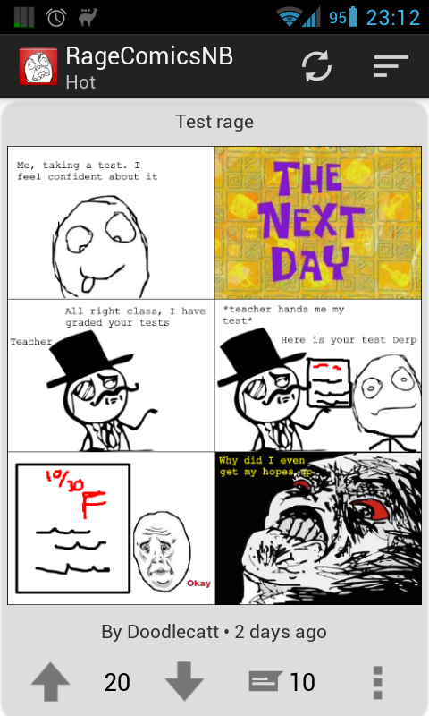 Rage Comics NB- screenshot