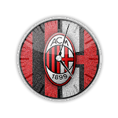 AC Milan Analog Clock Widget
