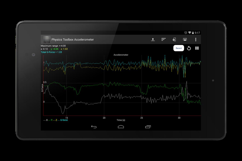 accelerometer screenshot