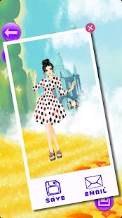 Cover Girl Dress Up - screenshot thumbnail