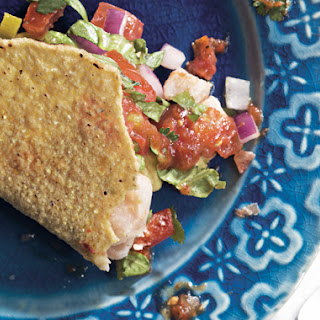 Mexican Ceviche Tacos.