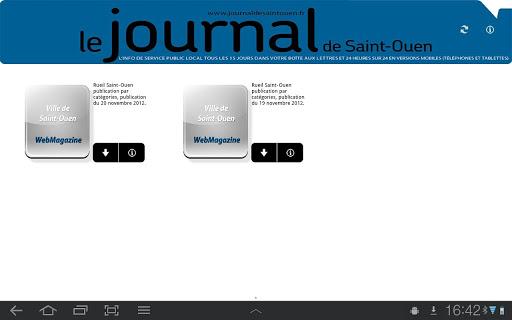 le journal de Saint-Ouen