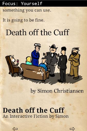 Death off the Cuff
