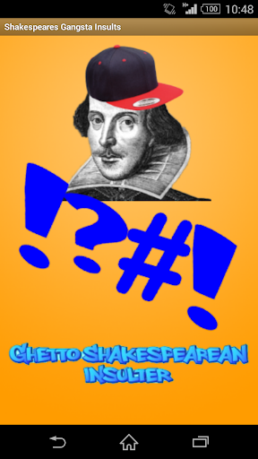 Shakespeare's Gangster Insults