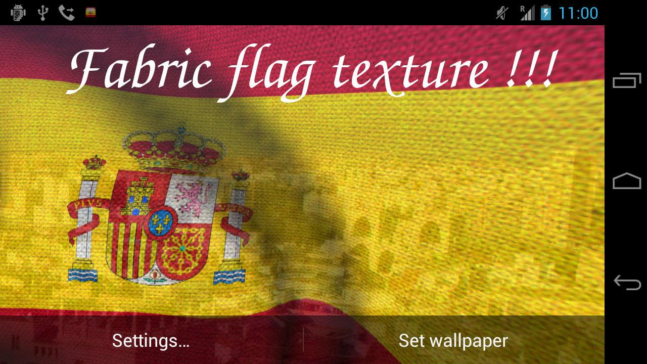 3D Spain Flag- screenshot