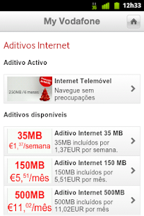 My Vodafone - screenshot thumbnail