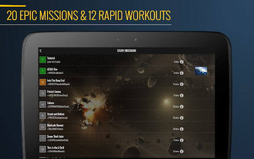 7 Minute Superhero Workout Screenshot