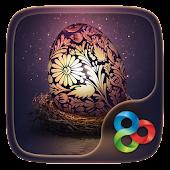 Easter eggs GO Launcher Theme