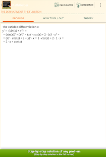 Algebra Calculus Integrals Fre - screenshot thumbnail
