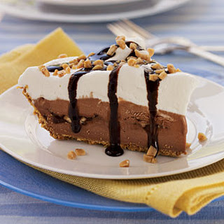 Chocolate-Toffee Ice Cream Pie