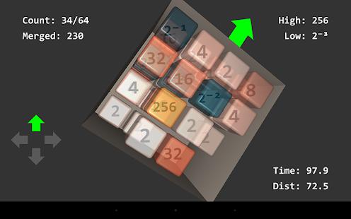 Cubic 2048 screenshot
