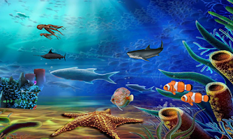 Screenshot of Aqua Life Live Wallpaper