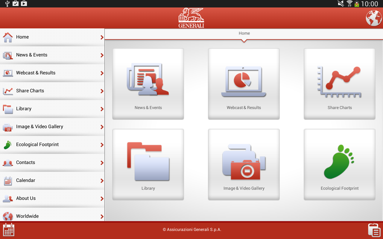Generali - screenshot