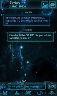 GO SMS Pro Slayer ThemeEX
