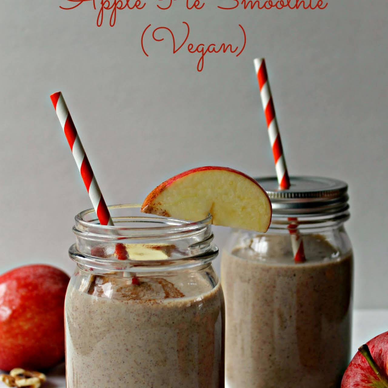 Apple Pie Smoothie (Vegan)