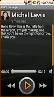 Screenshot of Visual Voicemail by MetroPCS