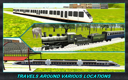Real Train Driver Simulator 3D 1.0.3 screenshot 110731