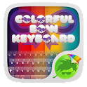 Colorido arco Go Keyboard icon