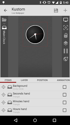 KLWP Live Wallpaper Maker 3.36b825516 screenshots 3