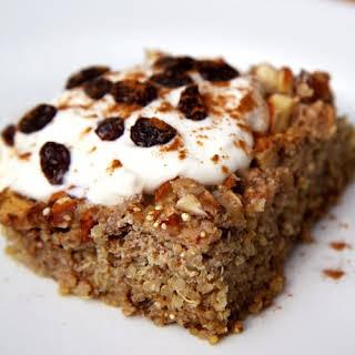 Apple Cinnamon Quinoa Breakfast Bake.