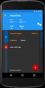 Swipetimes Time Tracker Pro v3.3.1