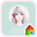 Lovelygirl(rose girl)dodol icon