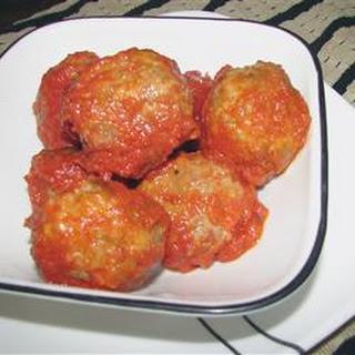 Three Animal Italian Meatballs