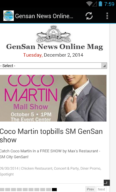Gensan News Online Mag- screenshot