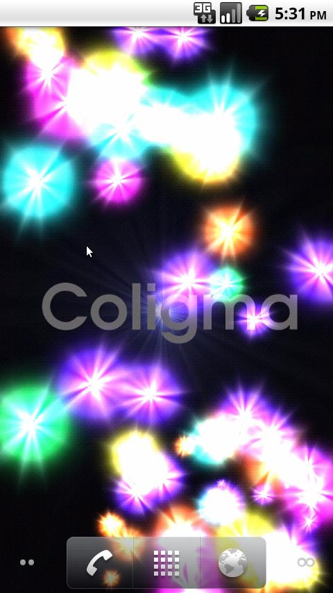 Coligma Live Wallpaper - screenshot