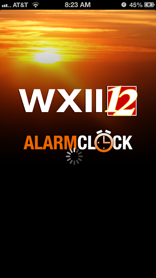 Alarm Clock WXII 12 News - screenshot