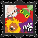 Kids' Animal Games HD icon