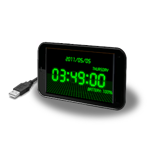 battery clock Pro