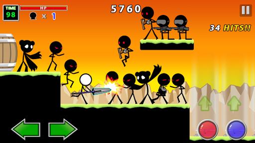 Ảnh màn hình trong game Stick Knight hack