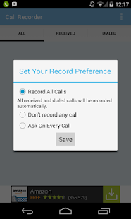 Call Recorder- Track all calls- screenshot thumbnail