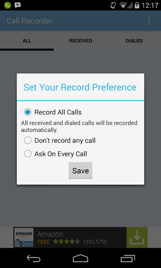 Call Recorder- Track all calls- screenshot